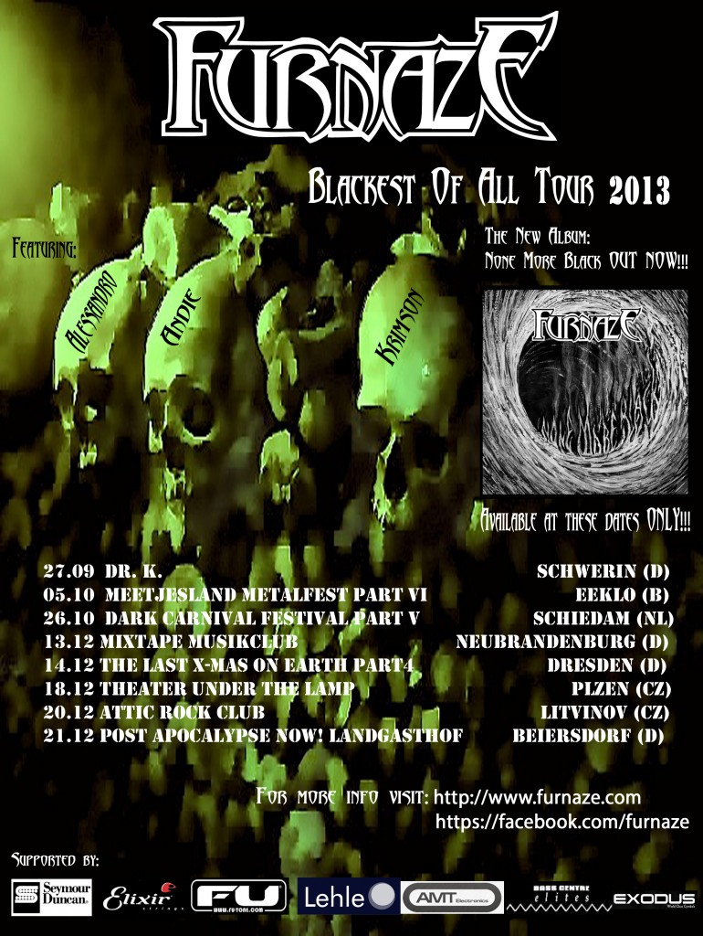 Blackest Of All Tour Poster